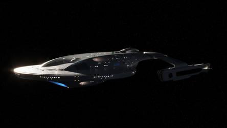 USS Atlantis - Kusanagi Class