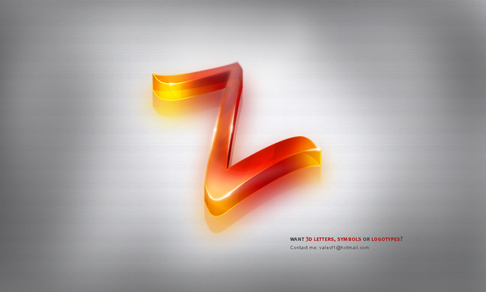 3D letters, symbols or logos? by ivelt