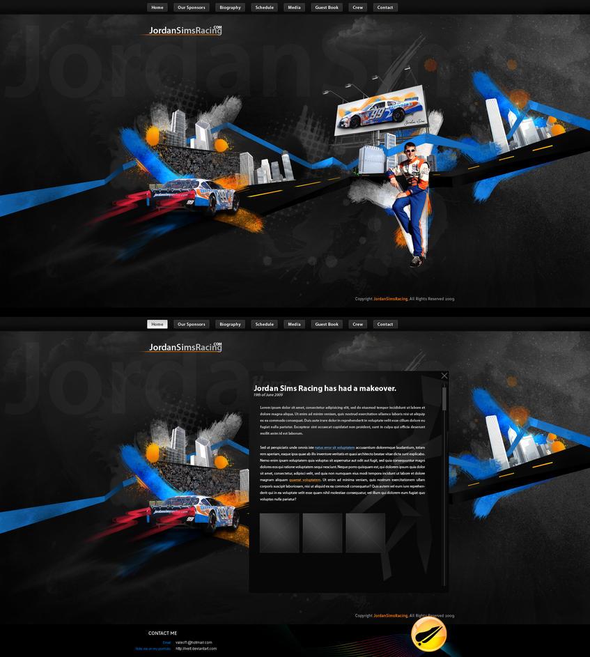 Jordan Sims Racing by ivelt