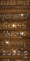 Glass Pack - Text Styles