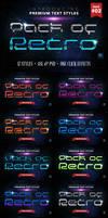 Retro 2 - Text Styles