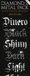 Diamond and Metal 3 - Text Styles by ivelt