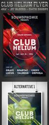 Club Helium - Flyer by ivelt