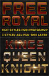 Free Royal Text Styles