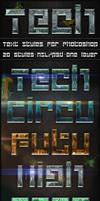 Tech - Text Styles