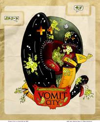 Vomit City by ivelt