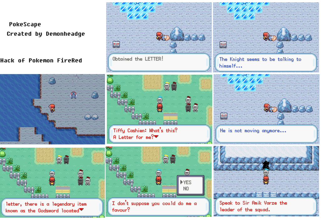 Screenshots by Demonheadge