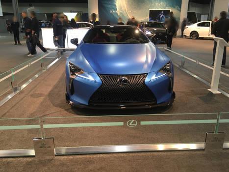 Lexus-sky blue