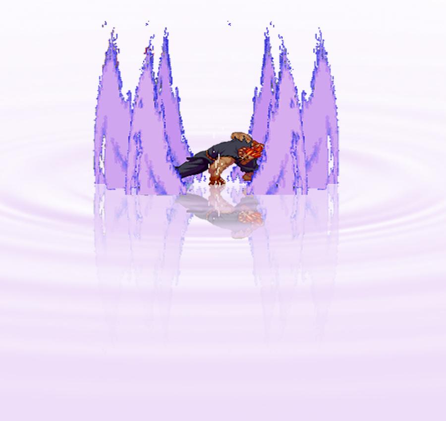 Akuma Water reflrction by JinsuYap