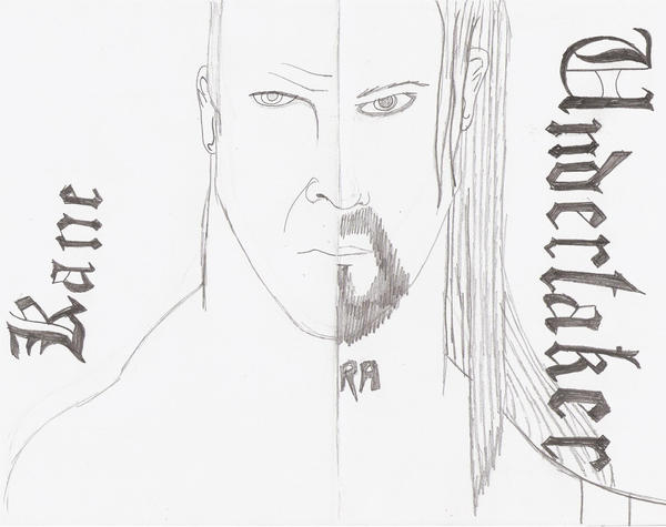 Kane and undertaker coloring pages coloring pages for Undertaker coloring pages