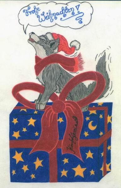 Frohe Weihnachten by KuschelGarou