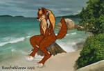 Wolf on the Beach 2
