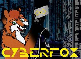 CyberFox Conbadge by KuschelGarou