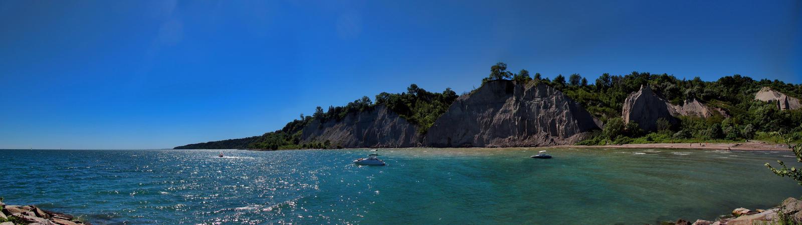 Bluffer's Cliffs by KMourzenko