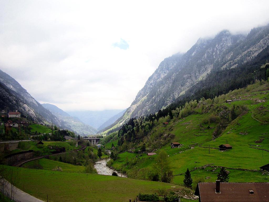 Swiss alps by KMourzenko