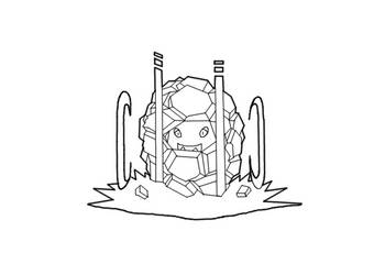 Baldur the Golem by DarthCloakedGuy