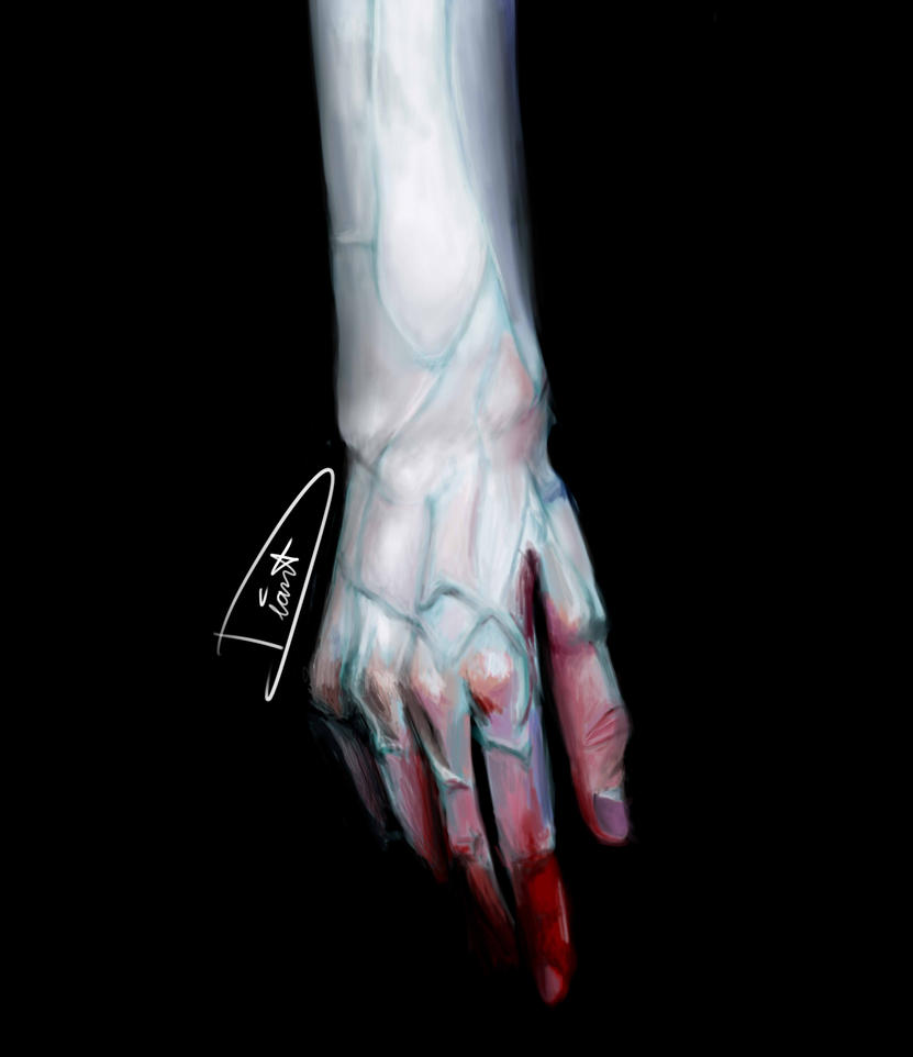 Hand study by YukininaSuzu
