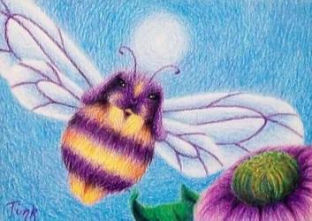 Bunny Bee by katTink