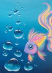 Rainbow Fish by katTink