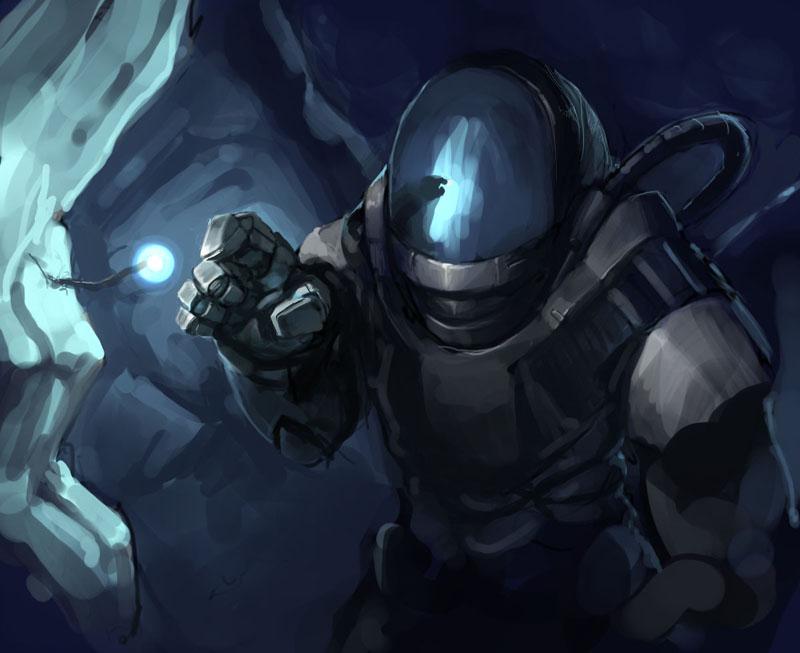 Diver by Morriperkele