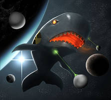 Nuclear Whale by Morriperkele