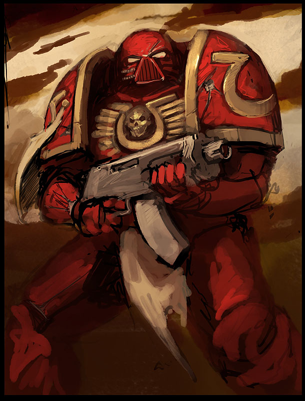 Space Marine 2 by Morriperkele