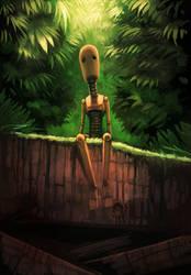 Sad Robot by Morriperkele