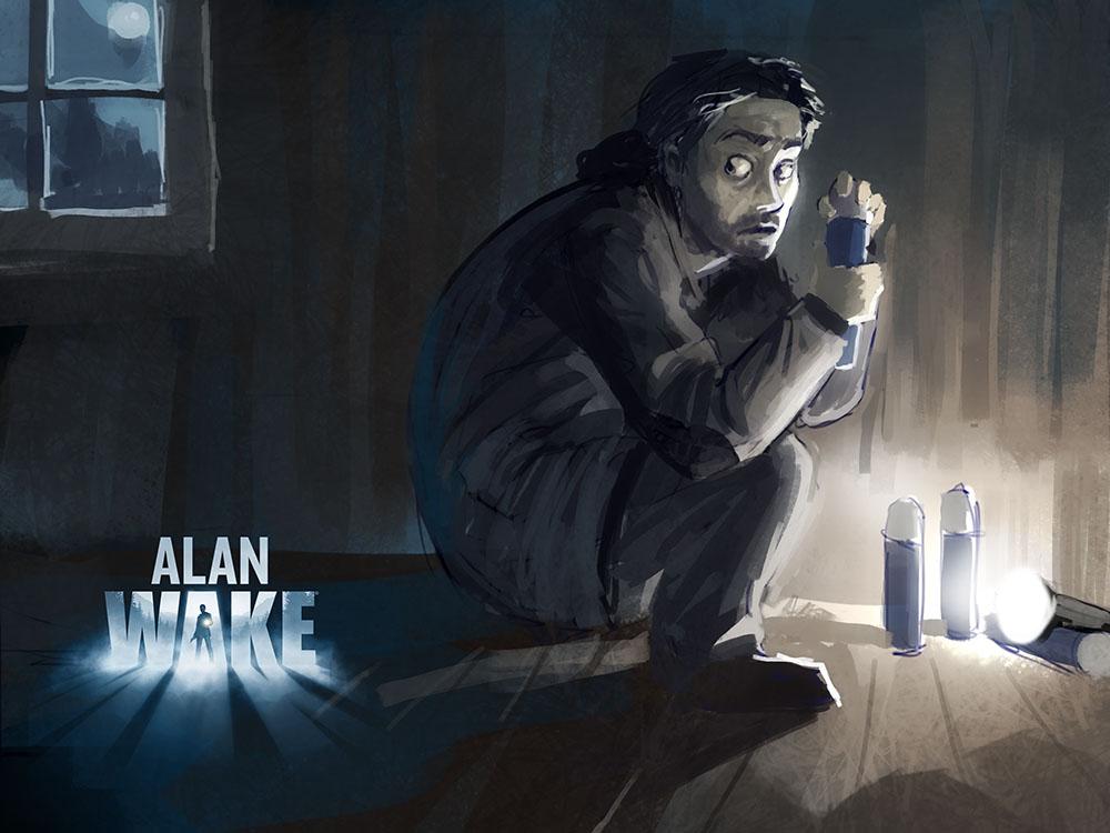 Alan Wake Fan Art