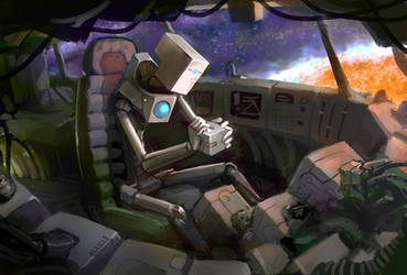 Robot Box by Morriperkele