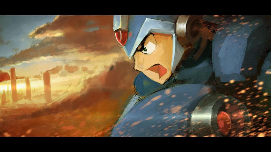 Mega Man by Morriperkele
