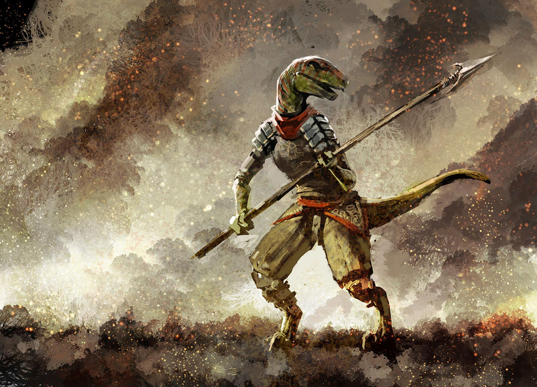 Reptile by Morriperkele