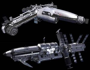 Iron Sky - CanadArm 3 and Spitfire