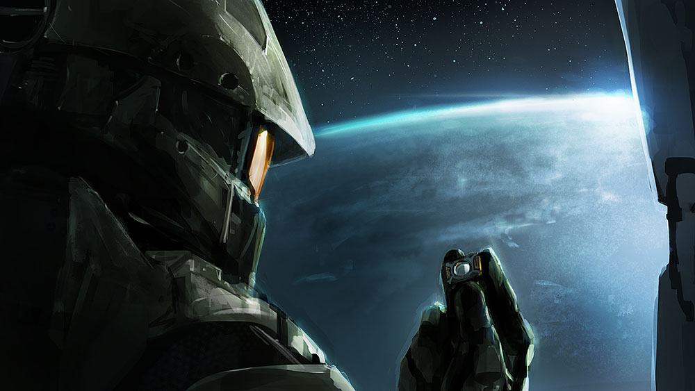 One of the best, and saddest, pieces of fan art I've seen : halo