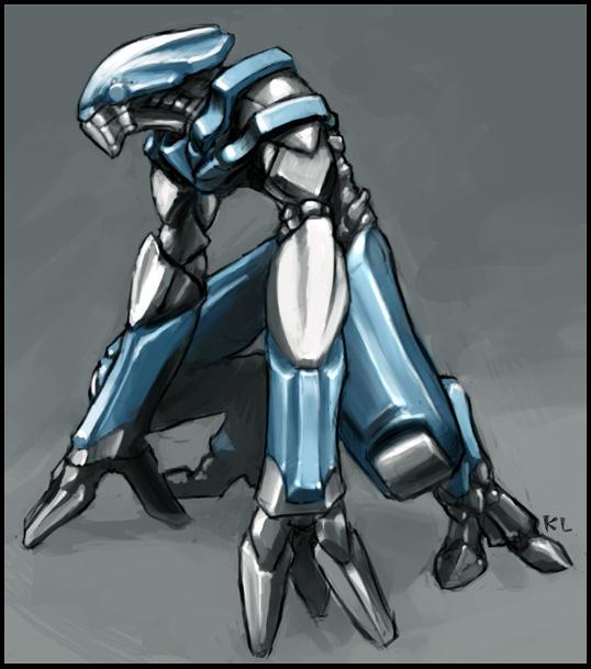 Robot thing by Morriperkele