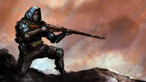 Rifleman by Morriperkele