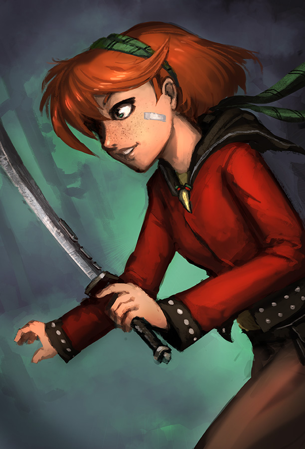 Pirate Princess by Morriperkele