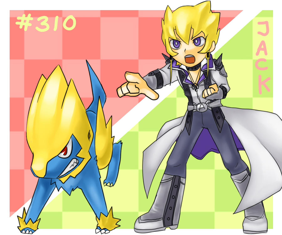 Jack and Manectric by chobitsG