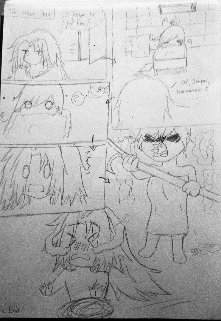Li'l Sketch: Embarrassing moment by Suiko-san