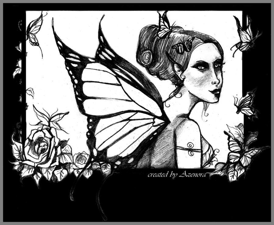 Fairy postcard by MademoiselleOrtie
