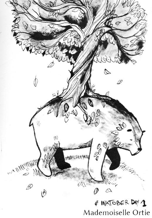 The Bear-Tree by MademoiselleOrtie