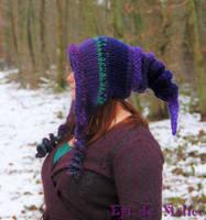 Purple violet Elf Hoodie