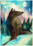 Wolf Rider by MademoiselleOrtie