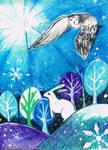 Winter Dawn by MademoiselleOrtie