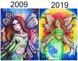 Fairy Art Improvement