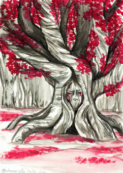 GoT Commission 'The Weirwood Tree'