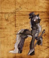 Steampunk Corvus - By Alice4444DM by Tomdepl