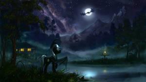 <b>Peaceful Night - By Devinian</b><br><i>Tomdepl</i>