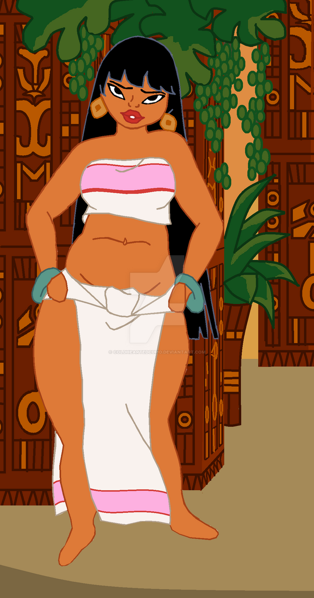Plus Size Dreamworks Chel by ColdHeartedCupid