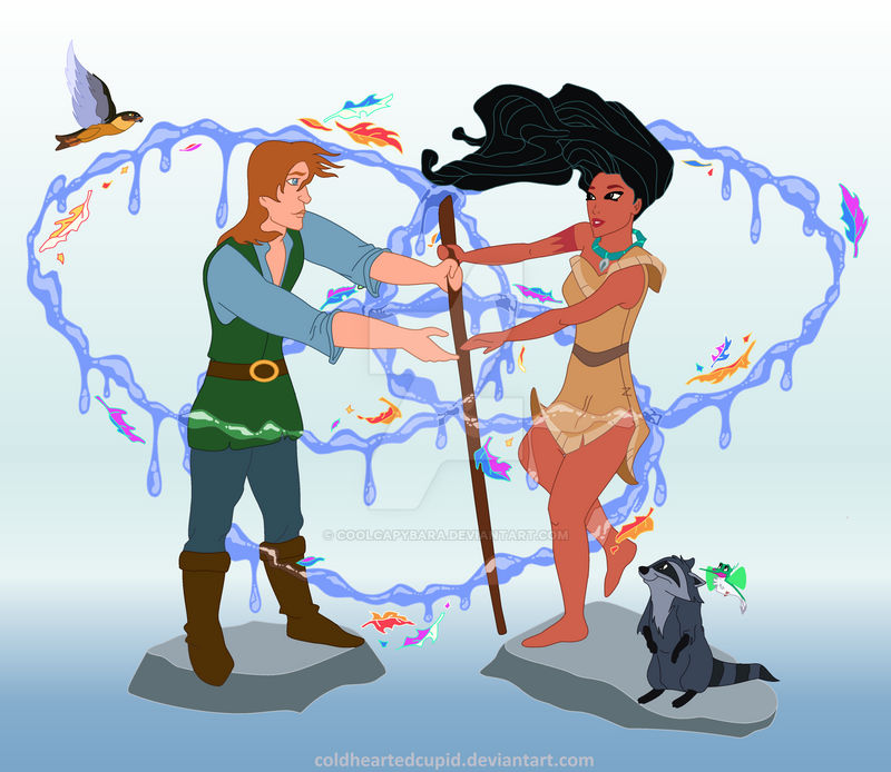 Quest for Pocahontas colored
