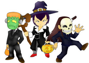Trick Or Treat: Colored